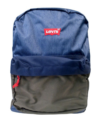 LeviS Lost Coast Floral Backpack-BLUE-One Size
