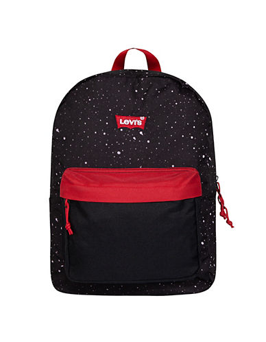 LeviS Lost Coast Floral Backpack-BLACK-One Size