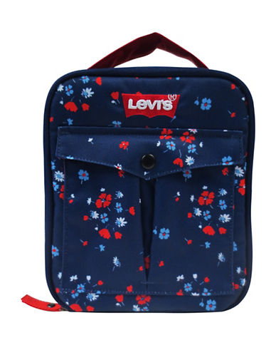 LeviS Floral Print Lunch Tote-FLORAL-One Size