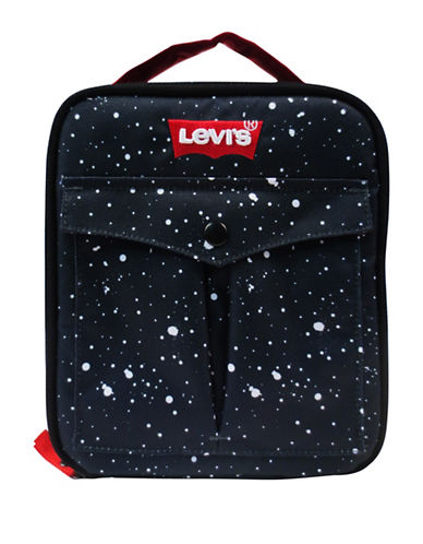 LeviS Sublimation Lunch Tote-BLACK-One Size