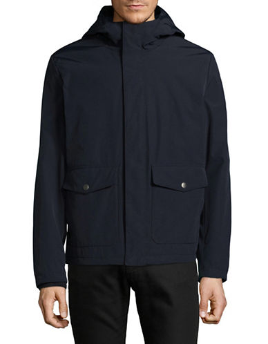 Dockers Long Sleeve Hoodie-NAVY-Medium