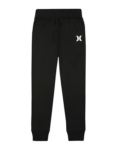 Hurley Therma Fit Jogger Pants-BLACK-Small