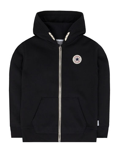 Converse Core C.T.P. Fleece Full Zip Hoodie-BLACK-Large 89503934_BLACK_Large