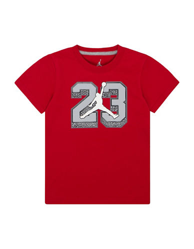 Jordan Dip-Dye Tee-RED-Large