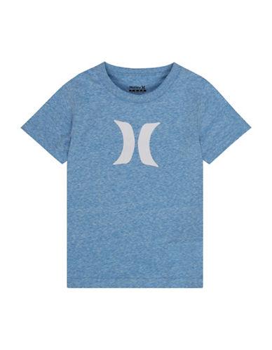 Hurley Cotton Logo T-Shirt-BLUE-Large