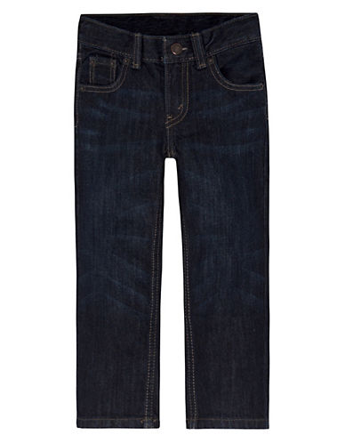 LeviS 505 Regular Fit Jeans-DARK BLUE-4