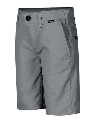 Hurley Slim-Fit Dri-FIT Shorts-GREY-22