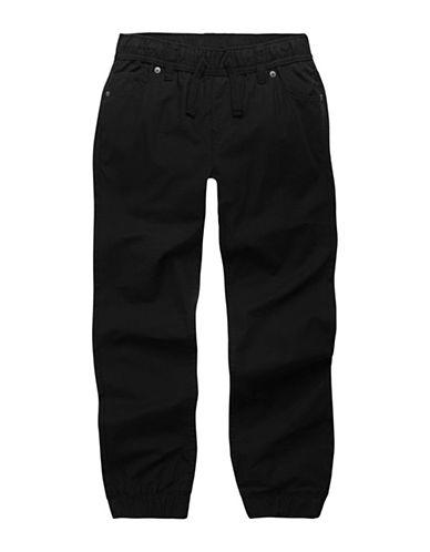 LeviS Ripstop Cotton Jogger Pants-BLACK-7