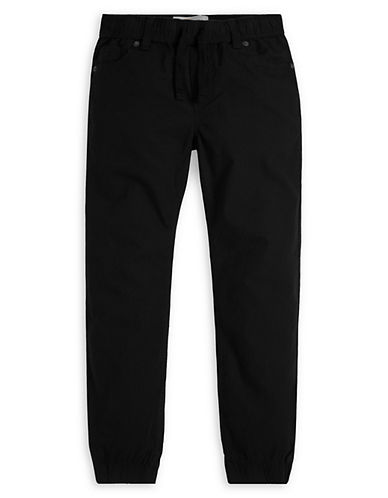 LeviS Ripstop Cotton Jogger Pants-BLACK-Small