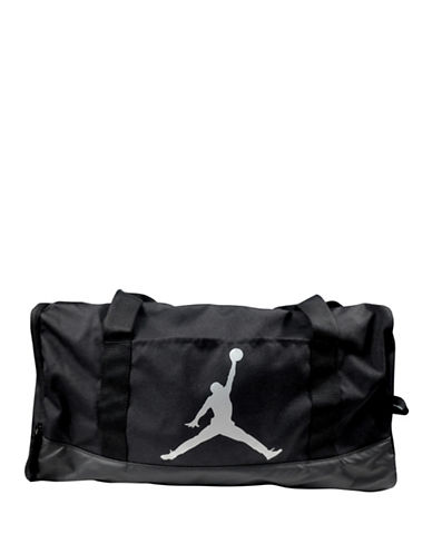 Jordan Jumpman Medium Duffel Bag-BLACK-One Size