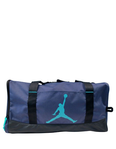 Jordan Jumpman Medium Duffel Bag-BLUE-One Size