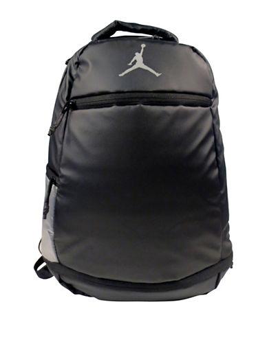 Jordan Skyline Weathered Backpack-BLACK-One Size