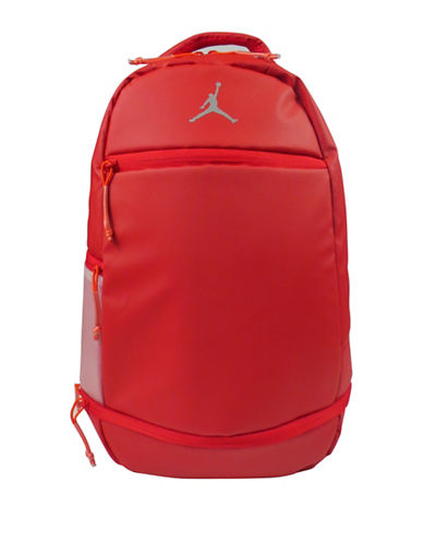 Jordan Skyline Weathered Backpack-RED-One Size