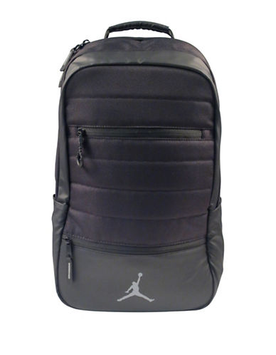 Jordan Galaxy Trim Backpack-BLACK-One Size