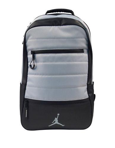 Jordan Galaxy Trim Backpack-GREY-One Size