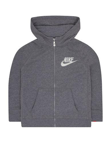 Nike Legacy Full-Zip Hoodie-GREY-5