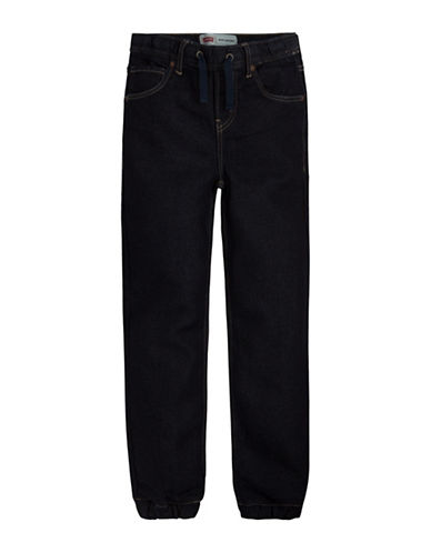 LeviS Knit Jogger Jeans-DARK BLUE-Medium