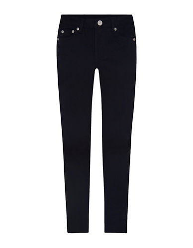 LeviS 710 Sueded Sateen Super Skinny Jeans-BLACK-14