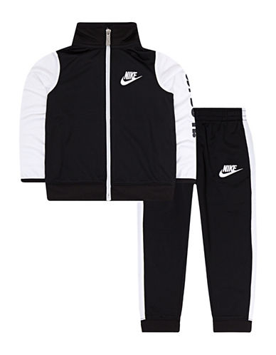 Nike Two-Piece Tricot Jacket and Pants Set-BLACK-2T