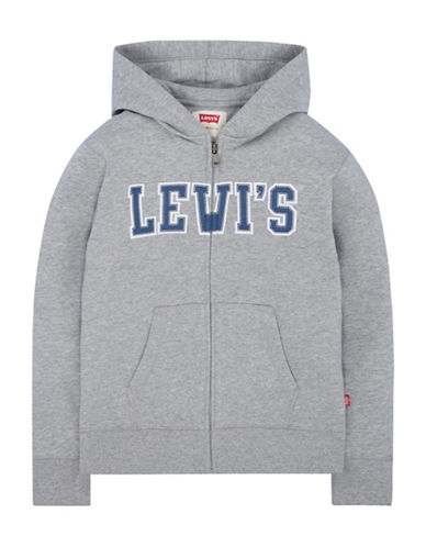 Levi'S Icon Full-Zip Hoodie-GREY-Medium 89642388_GREY_Medium