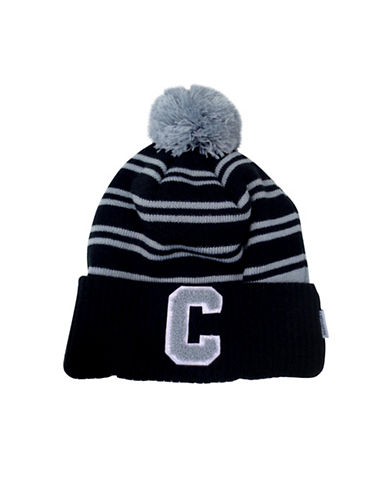 Converse Collegiate Knit Beanie-BLACK-8-18