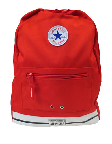 Converse Chuck Backpack-RED-One Size