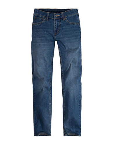 LeviS 502 Regular Taper Jeans-BLUE-8