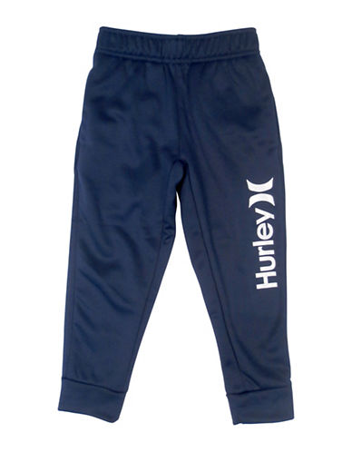 Hurley Therma-Fit Logo Joggers-NAVY-X-Large