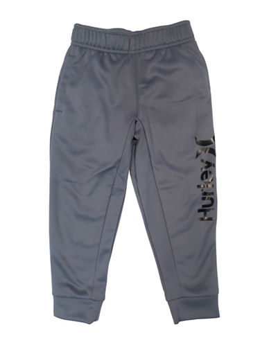 Hurley Therma-Fit Logo Joggers-COOL GREY-X-Large