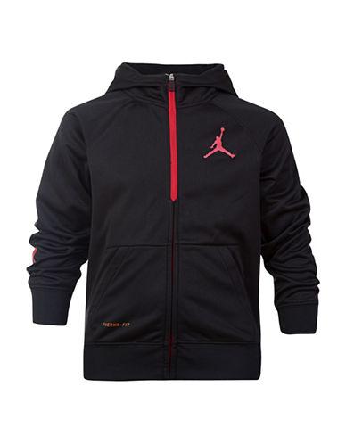 Jordan Alpha-Dry Hoodie-BLACK-Large