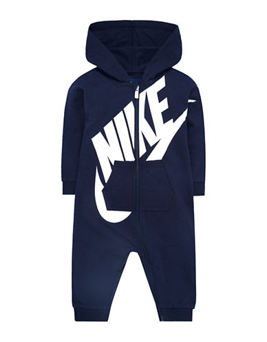 Nike French Terry All-Day-Play Coverall-BLUE-9-12 Months