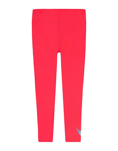 Nike Dri-Fit Metallic Leggings-PINK-5