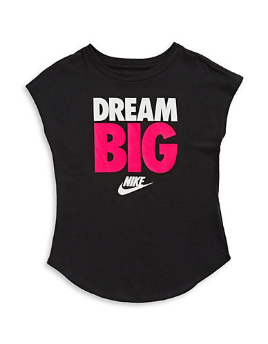 Nike Dream Big Modern Tee-BLACK-5