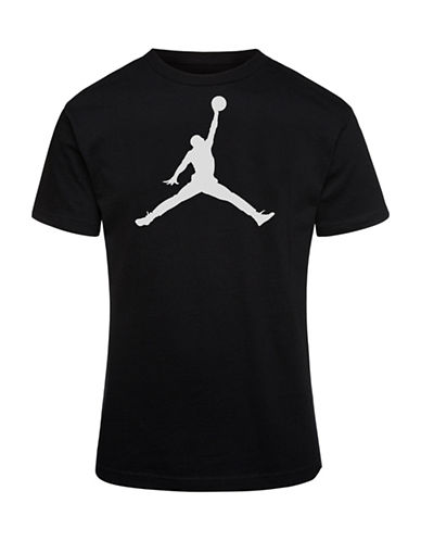 Jordan Jumpman Dri-Fit Tee-BLACK-Medium
