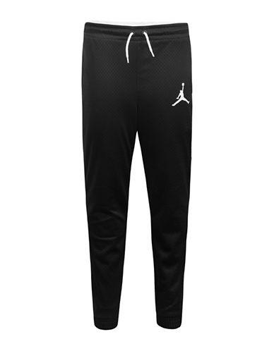 Jordan Mesh Jogger Pants-BLACK-Small