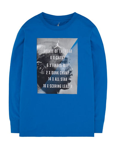Jordan Long-Sleeve Tee-BLUE-Large