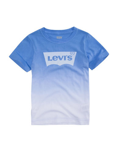 LeviS Johnny Vintage Graphic Tee-BLUE-5