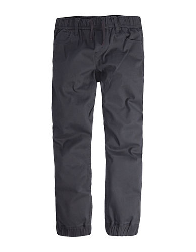 LeviS Twill Pull-On Jogger Pants-GREY-7