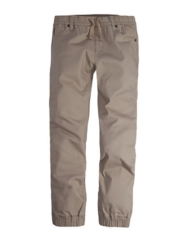 LeviS Twill Pull-On Jogger Pants-CHINO-Small