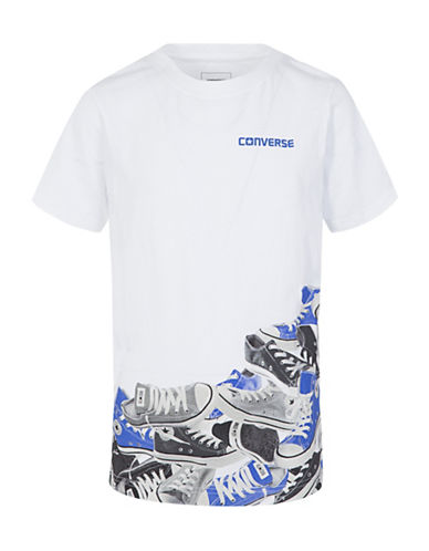 Converse Photoreal Chuck Pile Cotton Tee-WHITE-Small