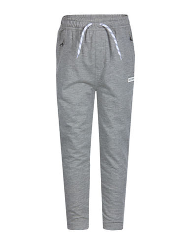 Converse Slim Drop Crotch Joggers-GREY-Small