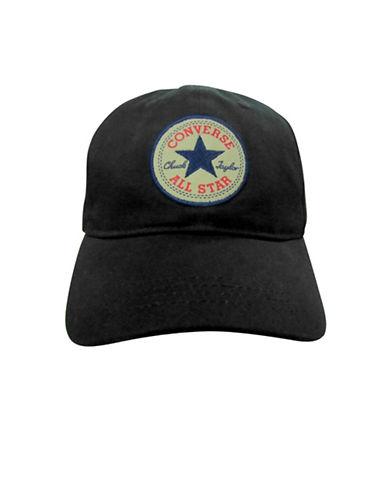 Converse Floppy Cotton Baseball Cap-BLACK-8-18