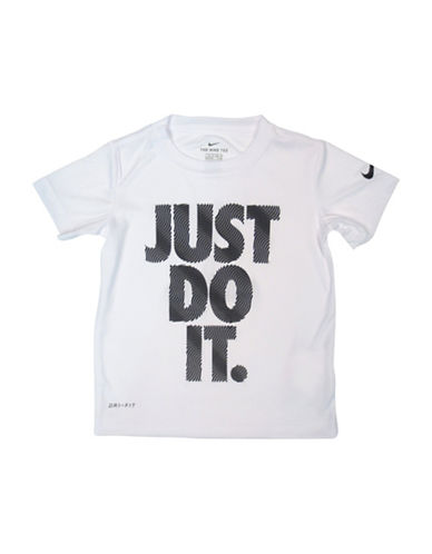 Nike Squiggle Dri-Fit Tee-WHITE-5