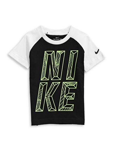 Nike Maze Raglan T-Shirt-BLACK-6