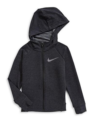 Nike Dri-Fit Zip Hoodie-BLACK-6