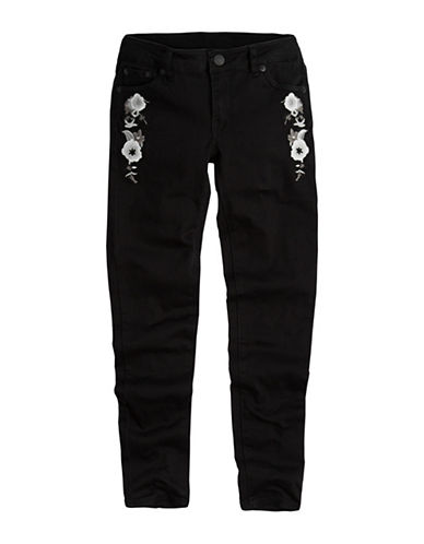 LeviS 710 Embroidered Jeans-BLACK-10