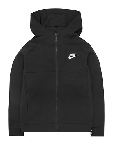 Nike Avenue Light Full-Zip Hoodie-BLACK-5