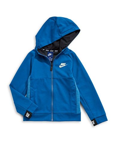 Nike Avenue Light Full-Zip Hoodie-BLUE-7
