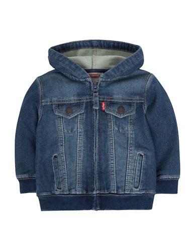 Levi'S Hooded Denim Knit Trucker Jacket 89860171