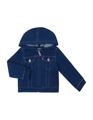 LeviS French Terry Jacket-BLUE-18 Months